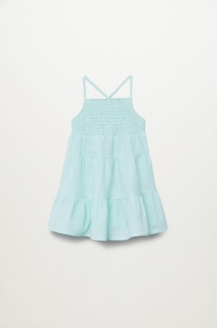 Mango Kids - Dievčenské šaty Porto 80-110 cm