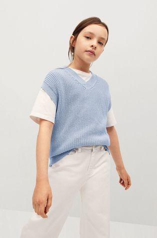 Mango Kids - Детска жилетка Vera 116-164 cm