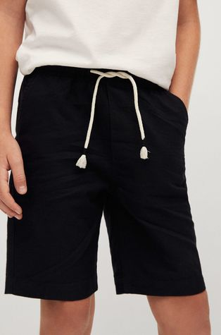 Mango Kids - Pantaloni scurti copii Oli 110-164 cm