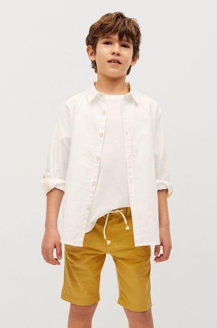 Mango Kids - Detské krátke nohavice Calatea 110-164 cm