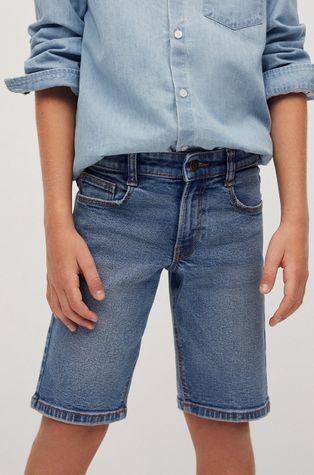 Mango Kids - Pantaloni scurti din denim pentru copii John 110-164 cm