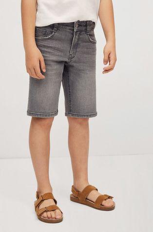 Mango Kids - Szorty jeansowe dziecięce John 110-164 cm