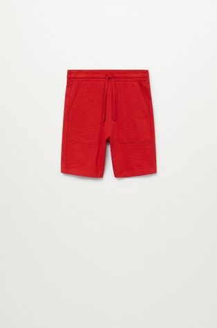 Mango Kids - Детские шорты Slub8 110-164 cm