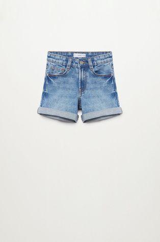 Mango Kids - Szorty jeansowe Chip 110-164 cm