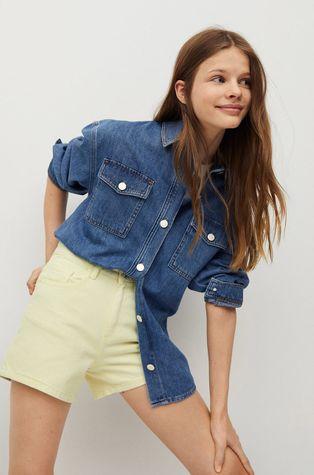 Mango Kids - Szorty jeansowe dziecięce Lauren