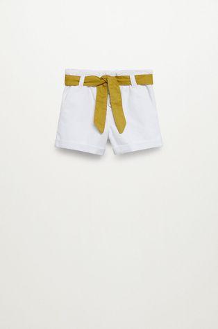 Mango Kids - Szorty jeansowe dziecięce Gala 110-164 cm
