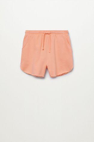 Mango Kids - Detské krátke nohavice PASTEL