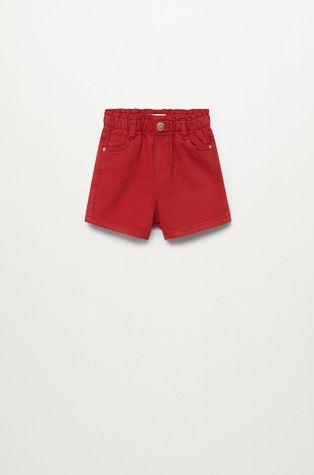 Mango Kids - Szorty jeansowe dziecięce Laura 80-104 cm