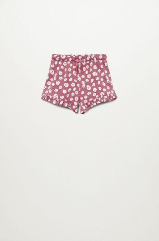 Mango Kids - Pantaloni scurti copii Matilda 80-104 cm