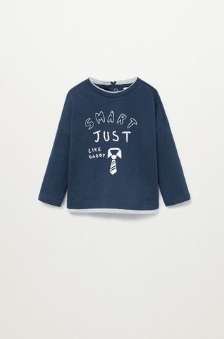 Mango Kids - Detské tričko s dlhým rukávom SMART
