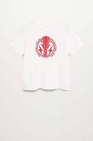 Mango Kids - T-shirt dziecięcy ROCK