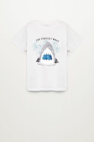 Mango Kids - T-shirt dziecięcy Sequin 110-152 cm