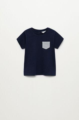 Mango Kids - T-shirt dziecięcy Basic8 80-104 cm