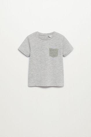 Mango Kids - T-shirt dziecięcy Basic 80-104 cm