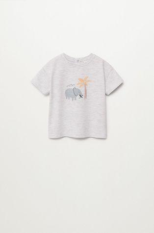 Mango Kids - T-shirt dziecięcy ELEFANTE