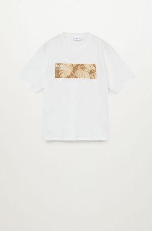 Mango Kids - T-shirt dziecięcy Toast 110-164 cm