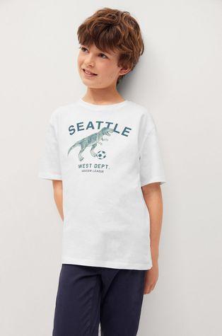 Mango Kids - T-shirt dziecięcy PLAYERS