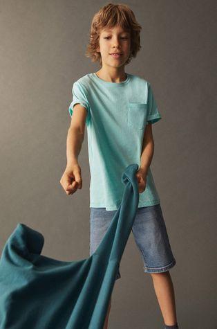 Mango Kids - T-shirt dziecięcy Brad 110-164 cm