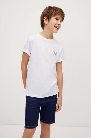 Mango Kids - T-shirt dziecięcy Summer 110-164 cm