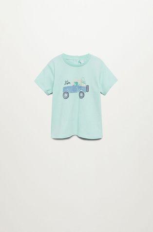 Mango Kids - T-shirt dziecięcy Beach 80-104 cm