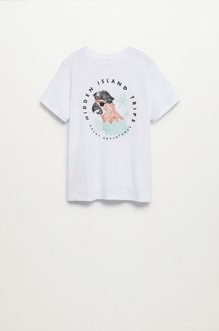 Mango Kids - T-shirt dziecięcy Loro 110-164 cm