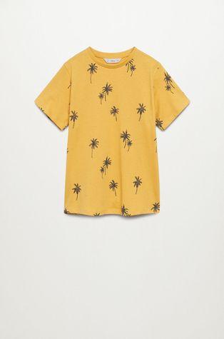 Mango Kids - T-shirt dziecięcy TROPI