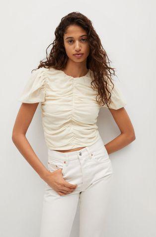 Mango - T-shirt FIORELLA