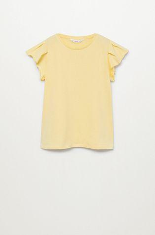Mango Kids - Дитяча футболка Soft 110-164 cm