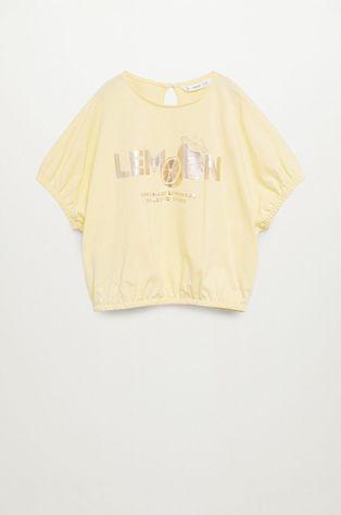 Mango Kids - T-shirt dziecięcy WORDS