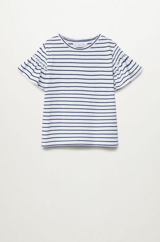 Mango Kids - T-shirt dziecięcy Bande 110-164 cm