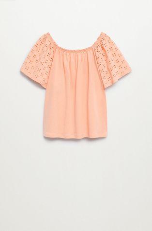 Mango Kids - Detské tričko Lore 116-164 cm