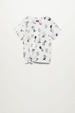 Mango Kids - T-shirt dziecięcy Sfamily-I 116-164 cm