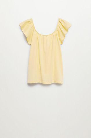 Mango Kids - Дитяча бавовняна блузка Geminis 116-164 cm