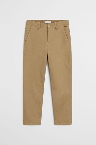 Mango Kids - Spodnie dziecięce Piccolo 110-164 cm