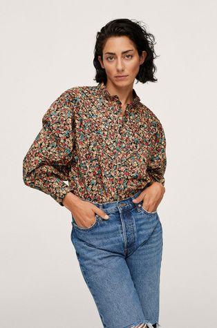 Mango - Koszula bawełniana Scarlet