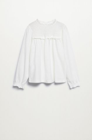 Mango Kids - Детска памучна блуза Audrey