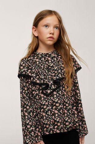 Mango Kids - Детска блуза Flora