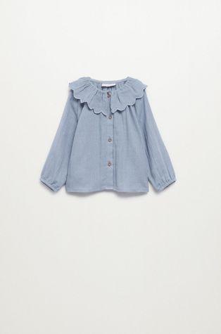 Mango Kids - Детска памучна блуза ISABELLA