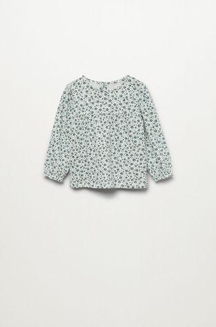 Mango Kids - Детска памучна блуза Galinda