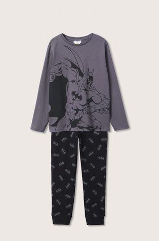 Mango Kids - Детска памучна пижама Batman