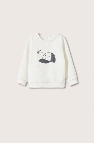 Mango Kids - Dětská bavlněná mikina Gorra