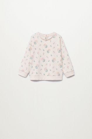 Mango Kids - Дитяча бавовняна кофта Floras