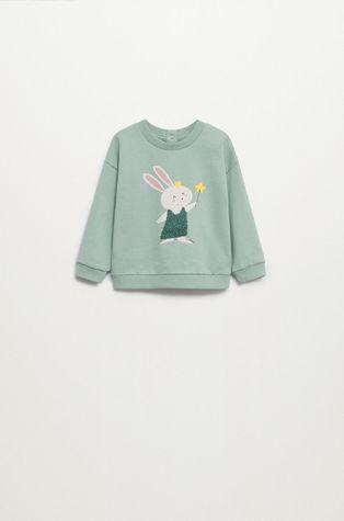 Mango Kids - Дитяча бавовняна кофта Mires