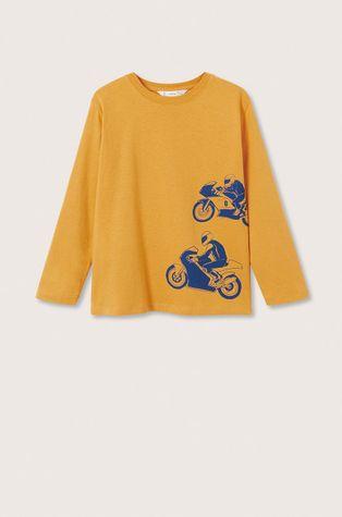 Mango Kids - Longsleeve bawełniany dziecięcy Racing