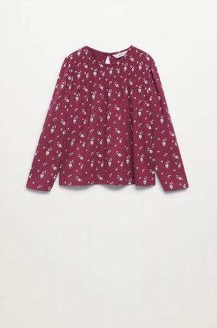 Mango Kids - Детска блуза с дълги ръкави Helen