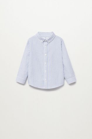 Mango Kids - Дитяча бавовняна сорочка Oxford