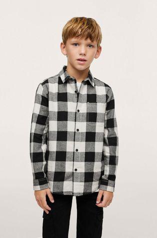 Mango Kids - Детская хлопковая рубашка Lenny