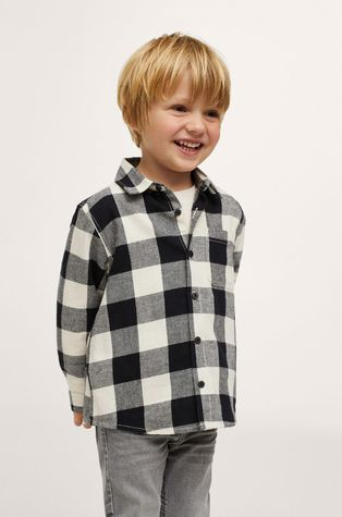 Mango Kids - Дитяча бавовняна сорочка Lenny