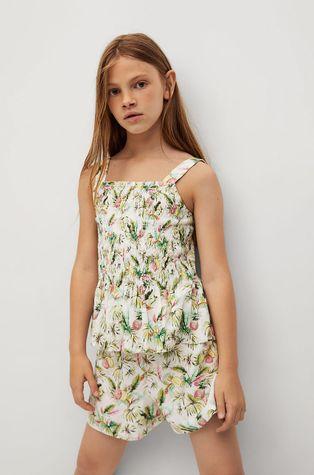 Mango Kids - Детска блуза Lulu 110-164 cm