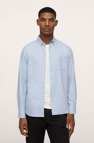 Mango Man - Koszula bawełniana Twill